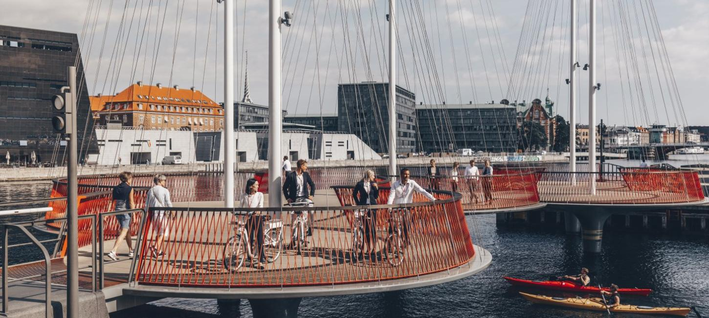 Copenhagen_CircleBridge_Cycling