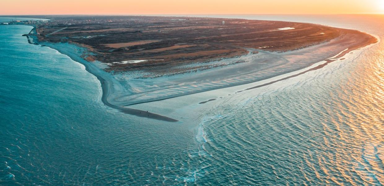 Grenen is Denmark's northernmost point. At Grenen, you can experience the two seas collide.