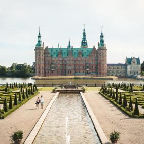 Frederiksborg Castle in North Zealand