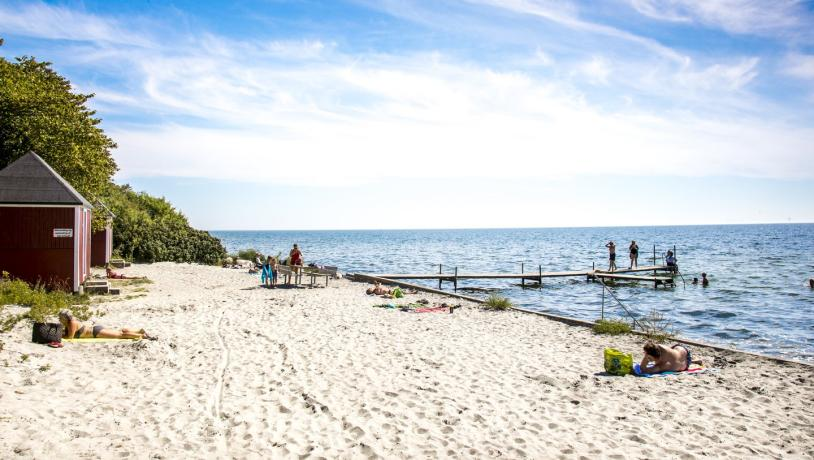 Summer Nysted Beach Lolland-Falster