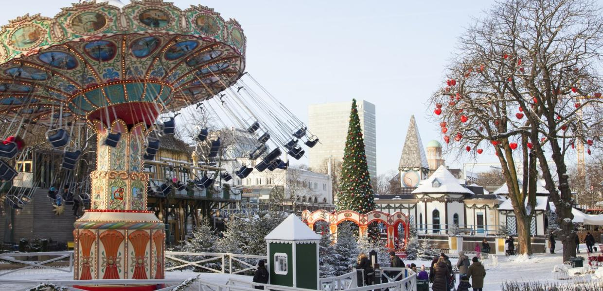 Christmas at Tivoli Gardens, Copenhagen