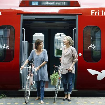 Take the S-train to explore more of Denmark's capital area
