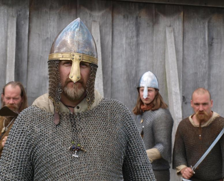 Vikings at Ribe Vikingecenter